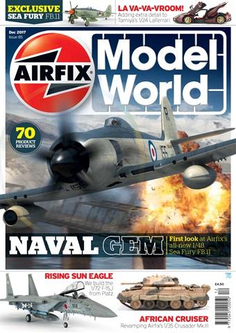 Airfix Model World issue   December 2017