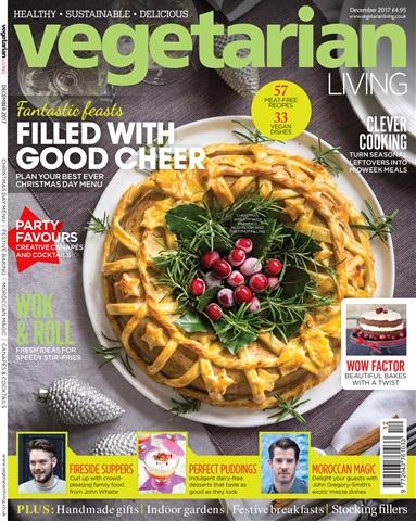 Vegetarian Living issue Dec-17
