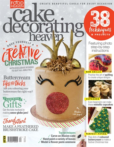 Food Heaven issue Cake Decorating Heaven November/December