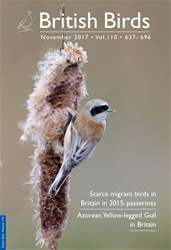 British Birds issue November 2017 | Vol 110 | 637-696