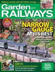 Garden Railways issue December 2017