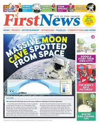 First News Magazine Cover