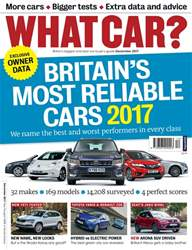 What Car Magazine issue December 2017