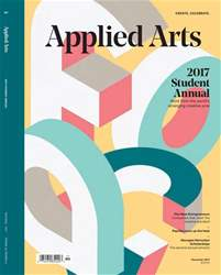 Applied Arts issue Nov/December 2017 - Student Awards