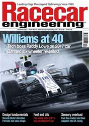 Racecar Engineering issue December 2017