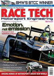 Race Tech issue Race Tech Issue 205