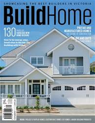 Build Home Victoria issue Oct Issue#50 2017