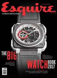 Esquire Singapore issue Big Watch Book 2017