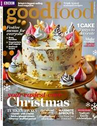 BBC Good Food issue Christmas 2017