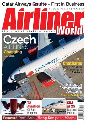 Airliner World issue   December 2017