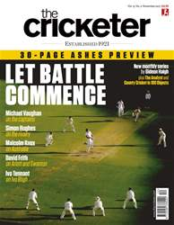 The Cricketer Magazine issue November 2017