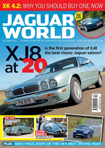 Jaguar World issue December 2017