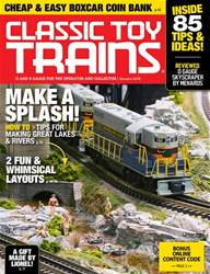 Classic Toy Trains issue January 2018