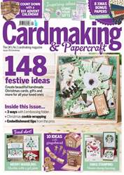 Cardmaking & Papercraft issue Christmas 2017