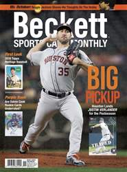 Sports Card Monthly issue November 2017