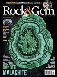 Rock & Gem Magazine Magazine Cover