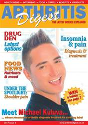 ArthritisDigest 2017 - issue 6 issue ArthritisDigest 2017 - issue 6