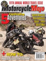 Motorcycle Mojo issue December 2017