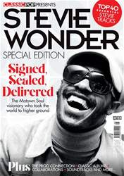 Classic Pop Presents issue Stevie Wonder