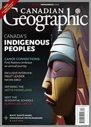 Canadian Geographic issue November/December 2017