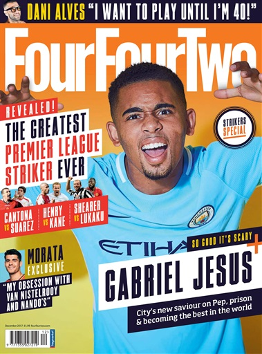 1914c8dba FourFourTwo Magazine - December 2017 Subscriptions