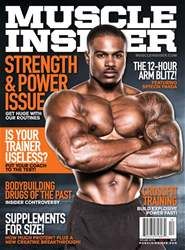 Muscle Insider Magazine issue Dec/Jan 2017/18