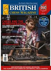 British Chess Magazine issue November 2017