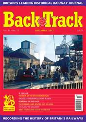 Backtrack issue December 2017