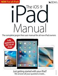 iOS 9 iPad Manual issue iOS 9 iPad Manual