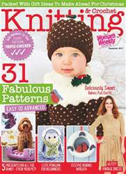 Knitting & Crochet issue December 2017