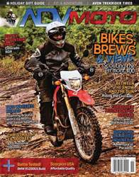 Adventure Motorcycle issue Nov/Dec 2017