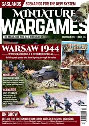 Miniature Wargames issue December 2017