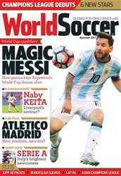 World Soccer issue November 2017