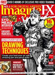 ImagineFX issue Xmas 2017