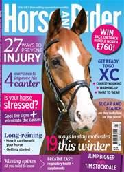 Horse&Rider Magazine –January 2018 issue Horse&Rider Magazine –January 2018