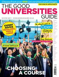 Independent School Parent issue The Good Universities Guide Aut 17