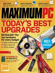 Maximum PC Magazine Cover