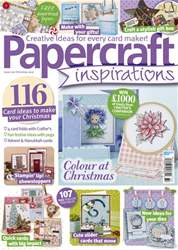 Papercraft Inspirations issue Christmas 2017