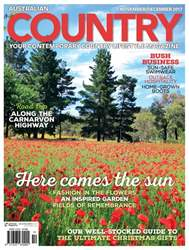 Australian Country issue Issue#20.6 Nov/Dec 2017