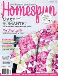 Homespun issue Issue#18.11 Nov 2017
