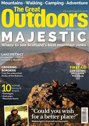 TGO - The Great Outdoors Magazine issue December 2017