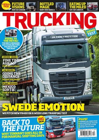 Trucking Magazine issue December 2017