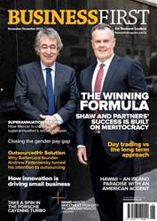 Business First Magazine issue Nov/Dec 2017