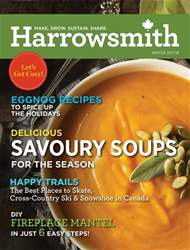 Harrowsmith Magazine Cover