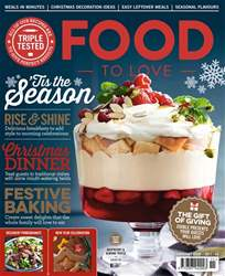 Food To Love issue Xmas/ New Year 2017