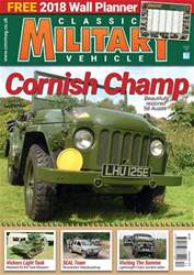 Classic Military Vehicle issue   December 2017