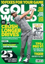 Golf World issue January 2018