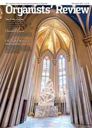 Organists' Review issue December 2017