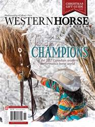 Western Horse Review issue November December Issue