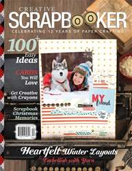 Creative Scrapbooker issue Winter 2017/18